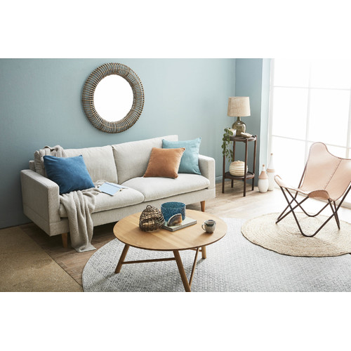 Latitude By Oneworld Sand Tia 3 Seater Sofa