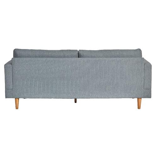 Latitude By Oneworld Silas Light Grey 3 Seater Sofa
