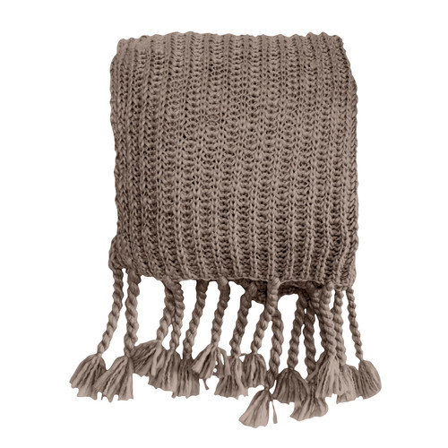 Bella Casa Savoy House Chunky Knit Throw