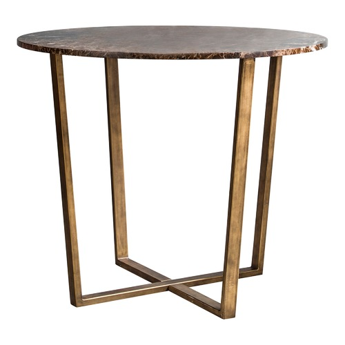 Bella Casa Nala Round Marble Dining Table