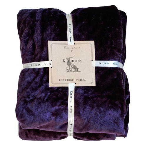Bella Casa Lyall Luxury Fleece Throw