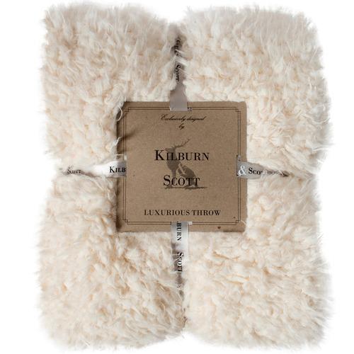 Bella Casa Howie Lined Sherpa Faux Fur Throw