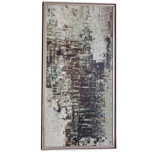 Bella Casa Stellan Abstract Framed Wall Art