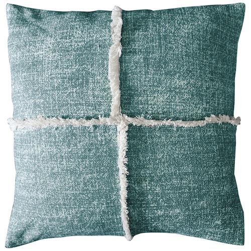Bella Casa Patna Fringe Cotton Cushion