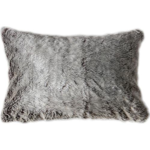 Bella Casa Aran Faux  Fur Rectangular Cushion