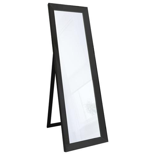 Bella Casa Black Byers Cheval Floor Mirror
