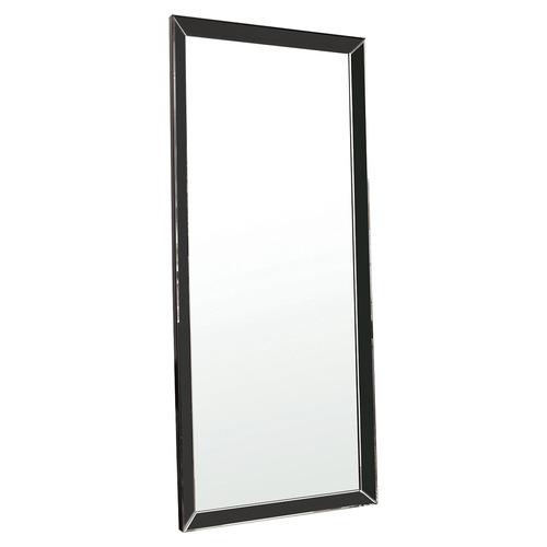 Bella Casa Black Belle Leaner Wall Mirror
