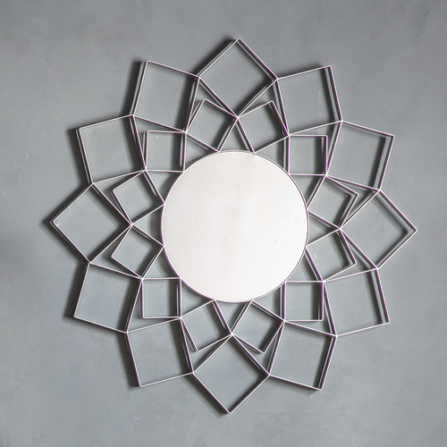 Bella Casa Leonore Metal Wall Mirror