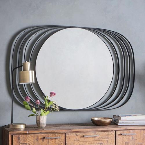 Bella Casa Roisin Round Wall Mirror