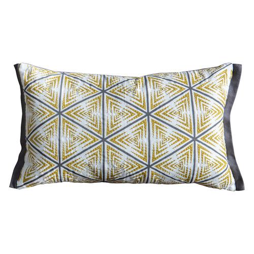 Bella Casa Geometric Hugi Cotton Cushion
