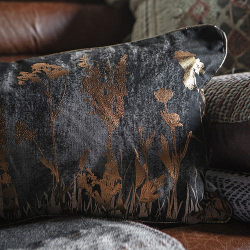 Bella Casa Wild Floral Cotton Cushion