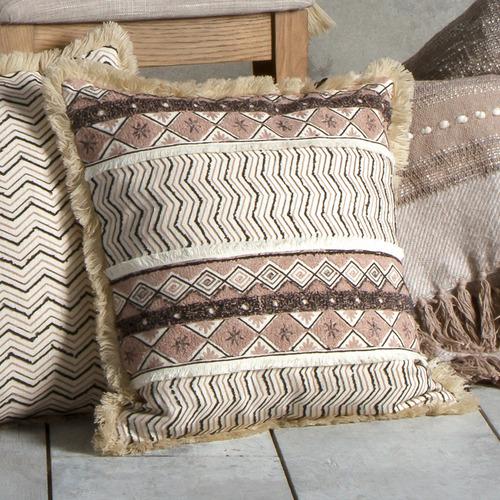 Natural Mahika Cotton Cushion