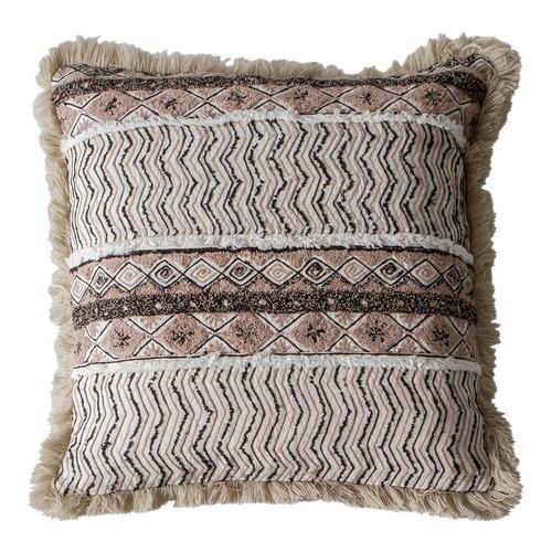 Bella Casa Natural Mahika Cotton Cushion