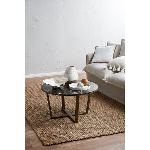 Bella Casa Nala Round Marble Coffee Table