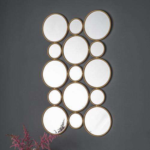 Bella Casa Gold Fedor Decorative Mirror