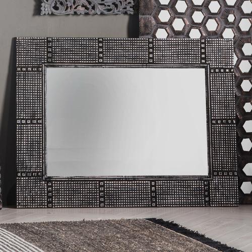 Bella Casa Black Amadine Wall Mirror