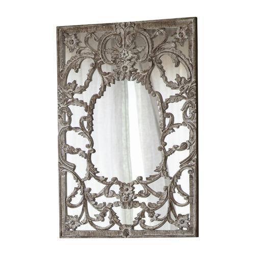 Bella Casa Antique Brown Limi Decorative Mirror