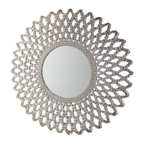 Bella Casa Silver Ciri Wall Mirror