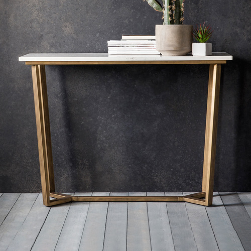 Bella Casa Linley Marble Console Table