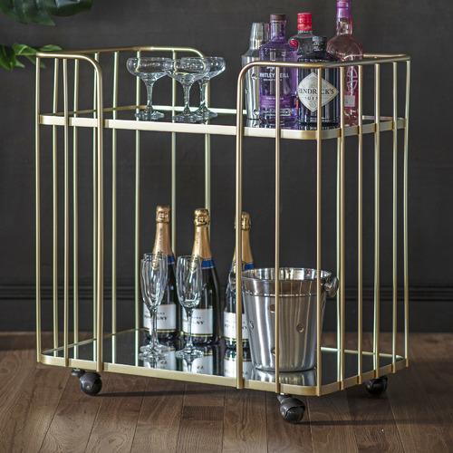 Champagne Verna Bar Cart