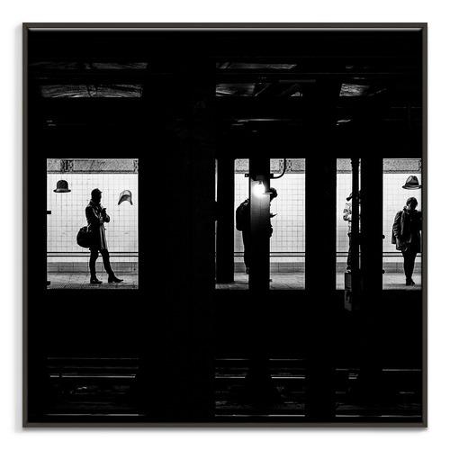 Photographers Lane Waiting Canvas Wall Art