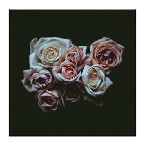 Photographers Lane Rose Bouquet Printed Wall Art