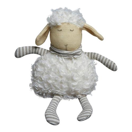 Pilbeam Textiles White Plush Sheep