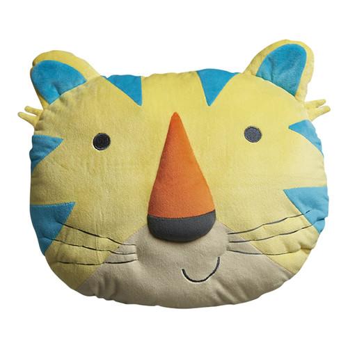Pilbeam Textiles Tiger Head Novelty Shape Cushion