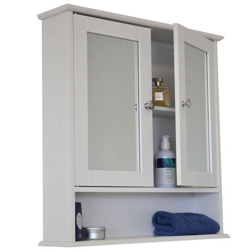 Odessa Mirrored Double Door Bathroom Cabinet Temple Webster