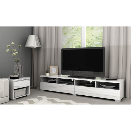 In Home Furniture Style Piper Long Entertainment Unit
