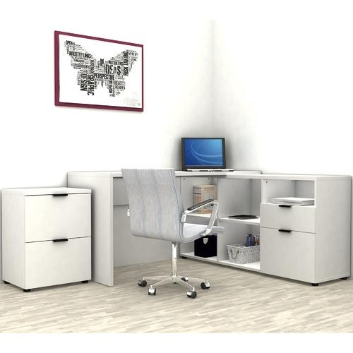 Rico 2 Drawer 5 Compartment Executive Desk