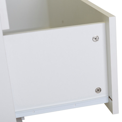 In Home Furniture Style White Tarin Wooden Chest of Drawers