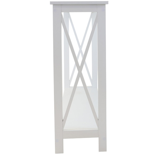 In Home Furniture Style White Long Island Console Table