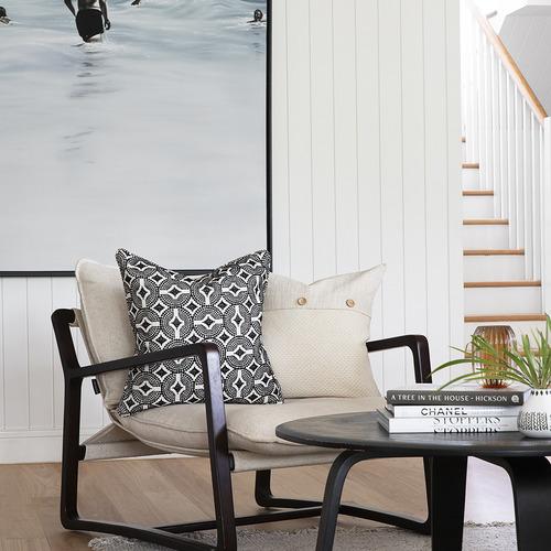 Zaab Homewares Lexi Cotton-Blend Cushion