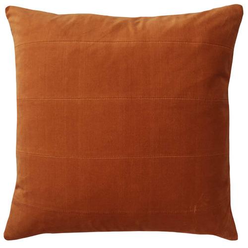 London Cotton Velvet Panel Cushion