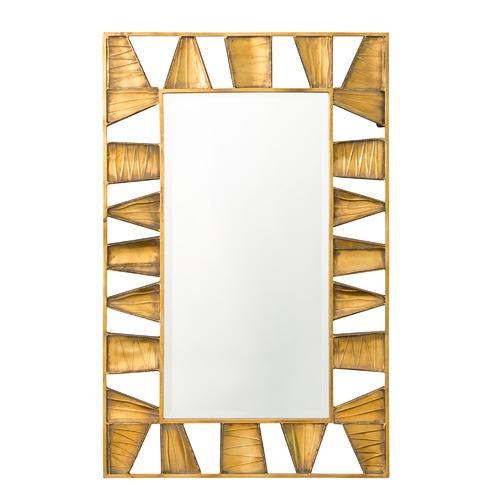The Print Academy Sunshine Savannah Geometric Mirror