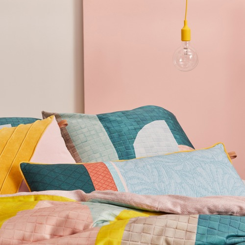 Oilily Oilily Abby Stone Pastel Cushion