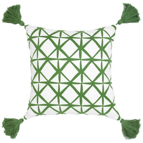 Maison by Rapee Isak Green Cotton Cushion