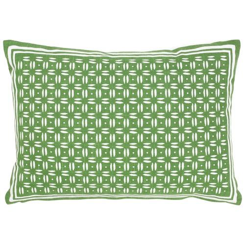 Maison by Rapee Neku Green Cotton Cushion