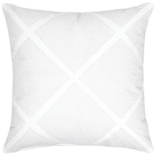 Maison by Rapee Tonic White Cotton Cushion