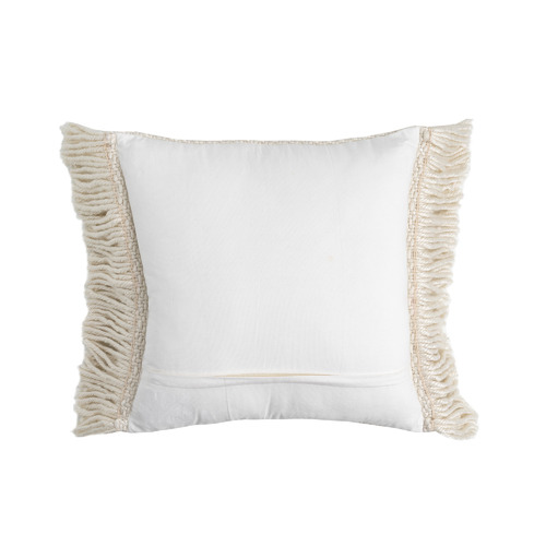 Maison by Rapee Zig Zag Weave Avery Tasselled Cushion
