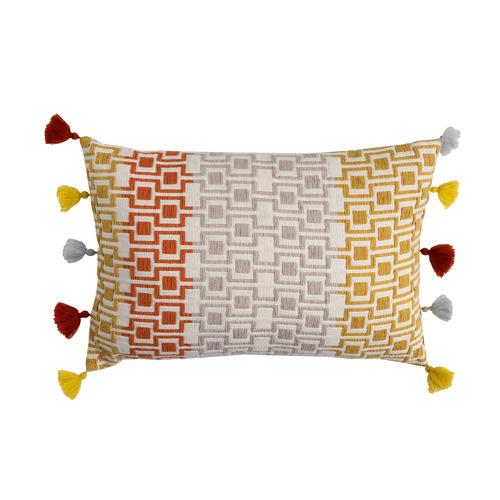 Maison by Rapee Ochre Eames Cotton Cushion