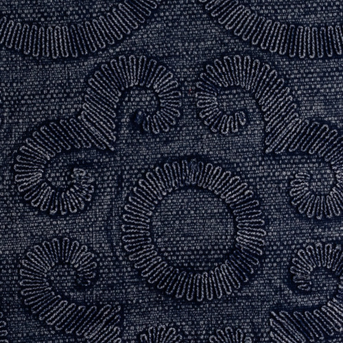 Maison by Rapee Navy Karis Cotton Cushion