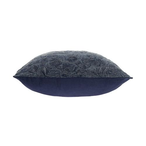 Maison by Rapee Navy Karis Cotton Cushion