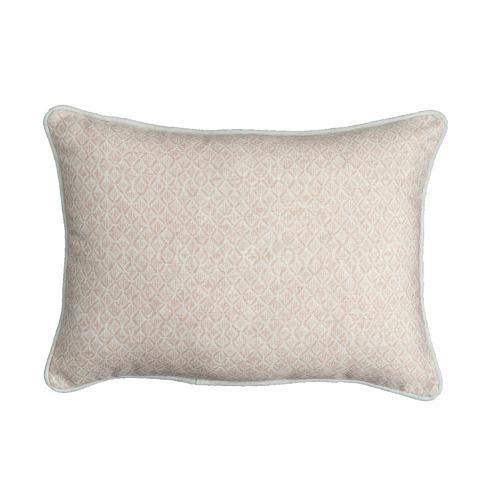 Printed Diamond Orbit Cushion