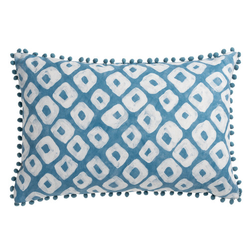Maison by Rapee Printed Akita Cotton-Blend Reversible Cushion
