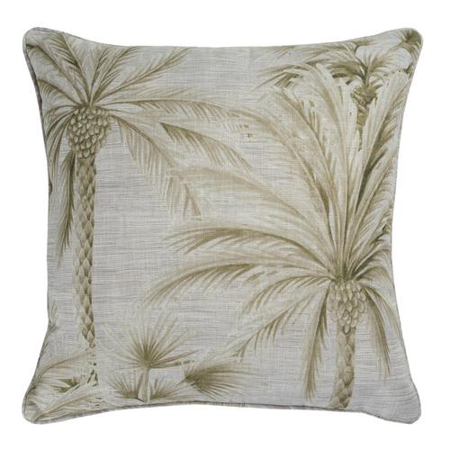 Maison by Rapee Chusan Linen-Blend Reversible Cushion