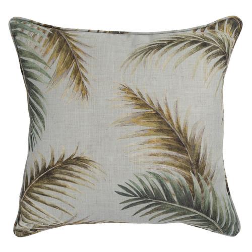 Maison by Rapee Olivier Linen-Blend Reversible Cushion