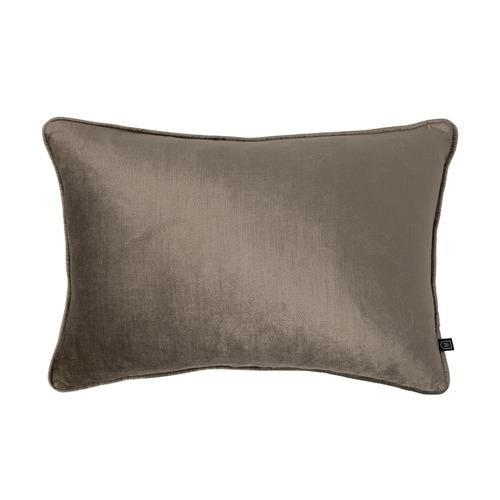 Shiitake Roma Velvet Cushion