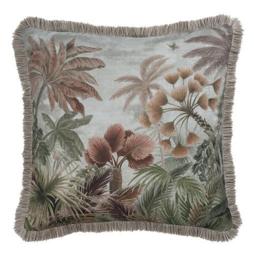 Cascade Oblong Cotton-Blend Cushion
